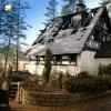 Třídomí - kaple | poničená rekreační chata s bývalou kaplí u Třídomí po požárem v zimě roku 2008