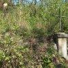 Skoky - Starkův kříž | obnovený Starkův kříž v bývalé farní zahradě v zaniklé vsi Skoky - září 2015