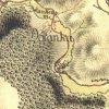 Dolánky - Toflův mlýn | Toflův mlýn (Toffelmühle) na mapě I. vojenského (josefského) mapování z let 1764-1768