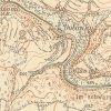 Dolánky - Toflův mlýn | Toflův mlýn (Toffelmühle) na mapě topografické sekce ze 40. let 20. století
