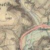 Žlutice - Jánský mlýn | Jánský mlýn (Johannesmühle) na mapě III. vojenského (františko-josefského) mapování z let 1877-1880