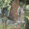 Údolí - pomník obětem 1. světové války | usazení kamenné stély na pomníku - září 2016