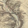 Protivec - Pekelský mlýn | Nový mlýn (Neumühle) či Pekelský mlýn (Höllmühle) v údolí potoka Velká Trasovka u vsi Protivec (Protiwitz) na mapě 3. vojenského mapování z let 1877-1880