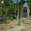 Boč - pomník obětem 1. světové války | zchátralý bývalý pomník obětem 1. světové války v Boči - červen 2017