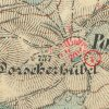 Babice - kaple | barokní kaple při cestě do Teplé na jihovýchodním okraji vsi Babice na mapě 3. vojenského františko-josefského mapování z roku 1878