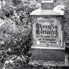 Žlutice - kostel Nejsvětější Trojice | další náhrobky na hřbitově před jeho zrušením