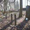Bohuslav - pomník obětem 1. světové války | zchátralý pomník obětem 1. světové války na neudržované návsi ve vsi Bohuslav - březen 2018