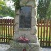 Krásný Jez - pomník obětem 1. světové války | zachovalý pomník padlým - září 2016