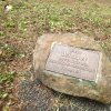 Poutnov - památník obětem 1. světové války | symbolický náhrobek zemřelého vojáka Otty Winklera v Poutnově - duben 2014