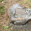 Poutnov - památník obětem 1. světové války | symbolický náhrobek zemřelého vojáka Emmericha Davida v Poutnově - duben 2014