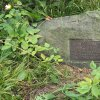 Poutnov - památník obětem 1. světové války | symbolický náhrobek ztraceného vojáka Alberta Langa v Poutnově - červenec 2018