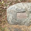 Poutnov - památník obětem 1. světové války | symbolický náhrobek ztraceného vojáka Franze Lehrla v Poutnově - duben 2014