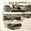 Jelení (Hirschenstand) | kolážová pohlednice obce Jelení (Hirschenstand) z roku 1905