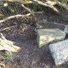 Německý Chloumek - kamenný kříž