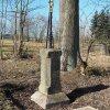 Javorná - železný kříž | obnovený litinový kříž u Javorné - březen 2017