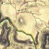 Sovolusky - Rohrerův mlýn | Rohrerův mlýn v údolí říčky Střely u Sovolusk na výřezu z mapy 1. vojenského josefského mapování z let 1764-1768
