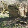 Sovolusky - Rohrerův mlýn | zříceniny hlavní obytné budovy zaniklého Rohrerova mlýna u Sovolusk od severu - březen 2017