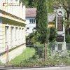 Jakubov - pomník obětem 1. světové války | přední strana zachovalého pomníku obětem 1. světové války v Jakubově - květen 2017