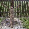 Zlatá Hvězda - Hospodský kříž | litinová figurální plastika Krista - srpen 2015
