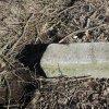 Dolní Valov - boží muka   dřík sloupu rozvalených božích muk u zaniklé vsi Dolní Valov - březen 2017