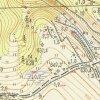 Javorná - Rábův mlýn | areál Rábova mlýna u Javorné uváděný jako v rozvalinách na topografické mapě z roku 1952