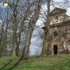 Verušičky - kaple Nejsvětější Trojice | zdevastovaná kaple Nejsvětější Trojice od jihozápadu - duben 2014