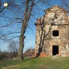 Verušičky - kaple Nejsvětější Trojice | vstupní západní průčelí kaple Nejsvětější Trojice ve Verušičkách - březen 2017