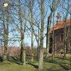 Verušičky - kaple Nejsvětější Trojice | rekonstruovaná kaple Nejsvětější Trojice ve Verušičkách od severozápadu - březen 2017
