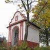 Štědrá - kaple | barokní kaple ve Štědré od jihu - říjen 2009