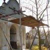 Štědrá - kaple | kaple v průběhu rekonstrukce - říjen 2007