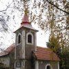 Malý Hrzín - kaple | kaple v obci Malý Hrzín - říjen 2009