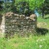Popov - kaple | zbytky bývalé obecní kaple od jihovýchodu - květen 2011