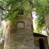 Svatobor - kostel Nanebevzetí Panny Marie | presbytář zdevastovaného kostela - říjen 2013