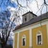 Stanovice - kostel sv. Tří králů | jižní průčelí kostela - listopad 2009
