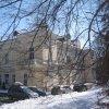 Dalovice - Nový zámek | objekt Nového zámku od severozápadu - březen 2013