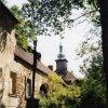 Javorná - zámek | západní křídlo zámku od severozápadu - srpen 2004