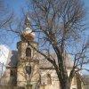 Kozlov - kostel Nanebevzetí Panny Marie | kostel v Kozlově od jihu - duben 2013