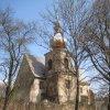 Kozlov - kostel Nanebevzetí Panny Marie | kostel od jihozápadu - duben 2013