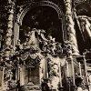 Žlutice - kostel sv. Petra a Pavla | detail výzdoby hlavní oltáře v roce 1968