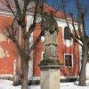 Nejdek - socha sv. Jana Nepomuckého | socha sv. Jana Nepomuckého - březen 2010