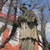 Nejdek - socha sv. Jana Nepomuckého | sv. Jan Nepomucký - duben 2011