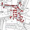 Javorná (Ohorn) | katastrální mapa vsi Javorná (Ohorn) z roku 1945