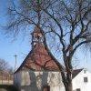 Čichalov - kaple sv. Jana a Pavla | kaple od západu - březen 2011