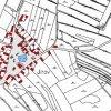 Jírov (Jurau) | katastrální mapa obce z doby před rokem 1955