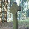 Boží Dar - kamenný kříž | kamenný kříž u Božího Daru - říjen 2013