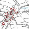 Dlouhý Luh (Langenau) | katastrální mapa vsi Dlouhý Luh z doby před rokem 1955
