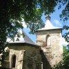Štoutov - kostel Všech svatých | závěr kostela od východu - červen 2010