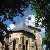 Štoutov - kostel Všech svatých | presbytář kostela - červen 2010