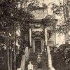 Ostrov - kaple Panny Marie Einsiedelnské | kaple Panny Marie Einsiedelnské na historické fotografii z počátku 20. století