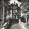 Ostrov - kaple Panny Marie Einsiedelnské | kaple Panny Marie Einsiedelnské v Ostrově na historické fotografii z doby před rokem 1945